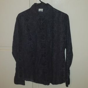 Men's Eight Eight LS Shirt Sz L